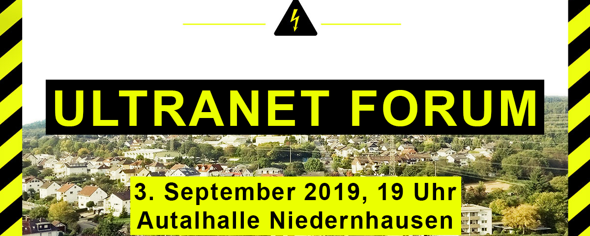 Einladung Ultranet Forum am 3. September 2019